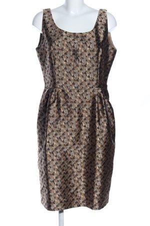 Armani Midi-jurk abstract patroon elegant