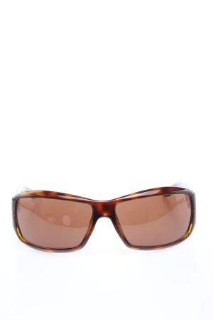 Armani Oval Sunglasses bronze-colored-light orange
