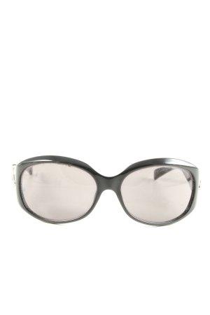 Armani Gafas de sol ovaladas negro look casual