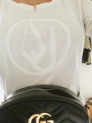 Armani Koszulka z długim rękawem biały
