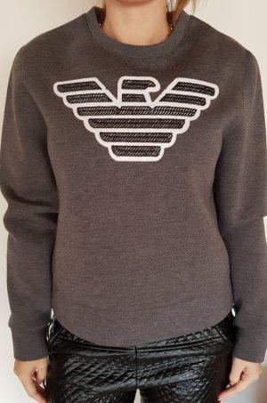 Emporio Armani Crewneck Sweater anthracite polyester