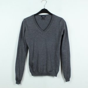 Armani V-Neck Sweater dark grey