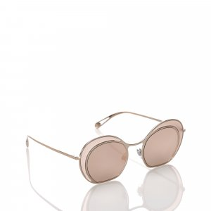 Armani Sunglasses gold-colored metal