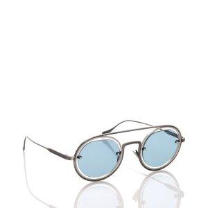 Armani Zonnebril lichtblauw Metaal