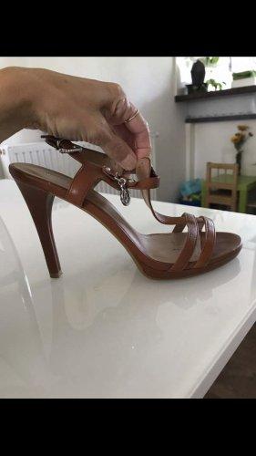 Armani Sandalen met bandjes veelkleurig Leer