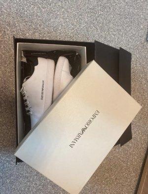 Armani Sneaker stringata nero-bianco