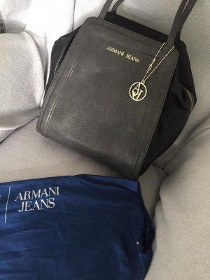 Armani Jeans Shoulder Bag black-anthracite