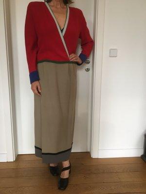 Armani Seiden-Zweiteiler-Kleid