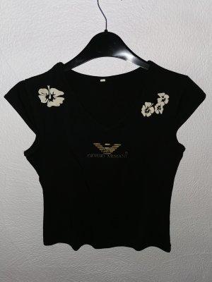 Armani Cropped shirt zwart