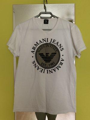 Armani T-Shirt white-black