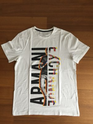 Armani Exchange T-Shirt multicolored cotton