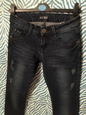 Armani skinny jeans 36 w27 low waist