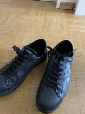 Armani Lace-Up Sneaker black