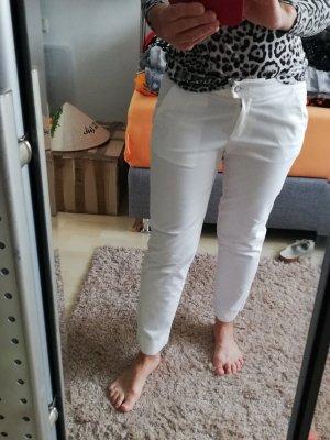 Armani Stoffen broek wit