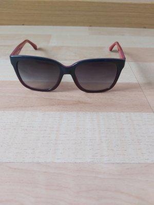 Armani Hoekige zonnebril rood-blauw