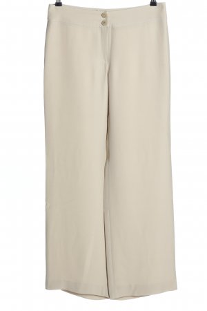 Armani Spodnie materiałowe w kolorze białej wełny W stylu biznesowym