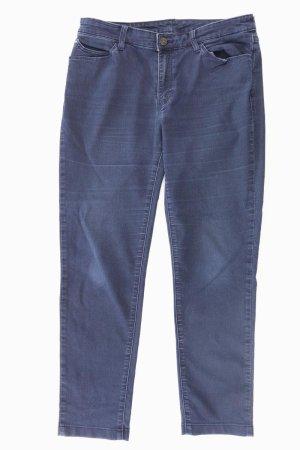 Armani Straight Leg Jeans blue-neon blue-dark blue-azure cotton