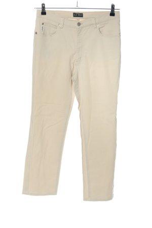Armani Jeans met rechte pijpen lichtgrijs casual uitstraling