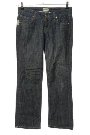 Armani Jeansy z prostymi nogawkami niebieski W stylu casual