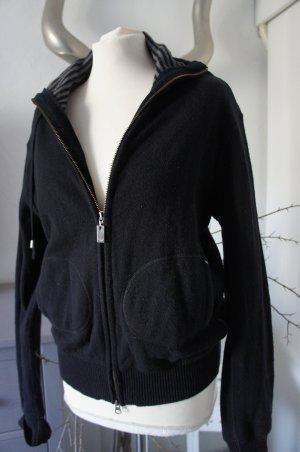 Armani Giacca in maglia nero-grigio