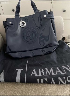 Armani Jeans Shopper bleu foncé