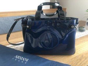 Armani Handtas zwart-donkerblauw