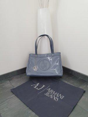 Armani Jeans Sac porté épaule gris ardoise