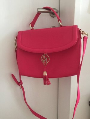 Armani Jeans Carry Bag raspberry-red