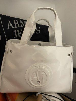 Armani Jeans Handbag white