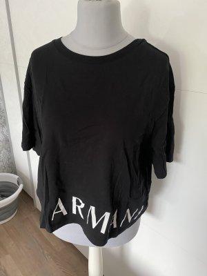 Armani Tshirt Shirt Schwarz L 40