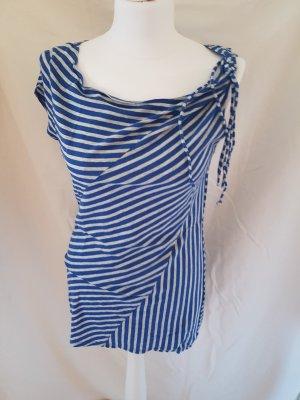 Armani Exchange Cowl-Neck Shirt light grey-blue