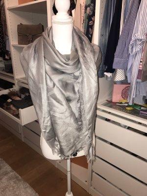 Armani Shoulder Scarf silver-colored-grey
