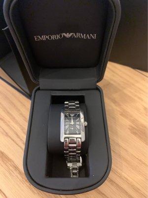 Armani Uhr aus Edelstahl