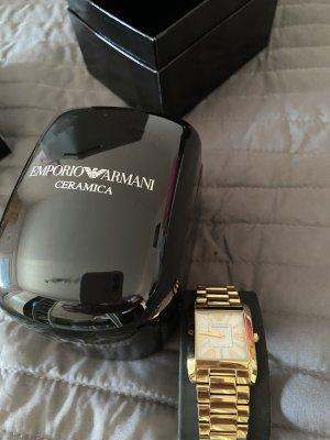 Armani Analoog horloge goud