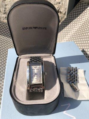 Armani Uhr Silber