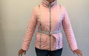 Armani Jeans Chaqueta doble gris claro-rosa claro