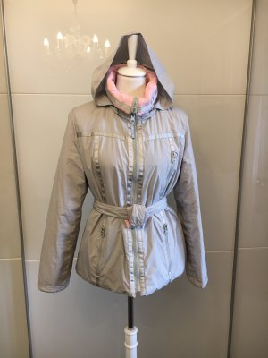Armani Jeans Veste double gris clair-rose clair