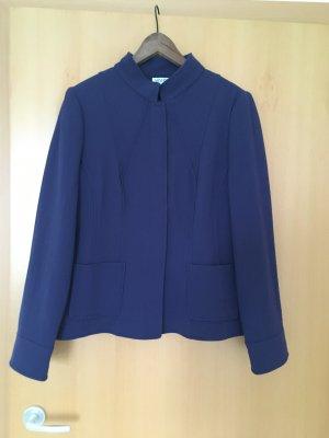Armani Collezioni Blazer en laine bleu violet laine