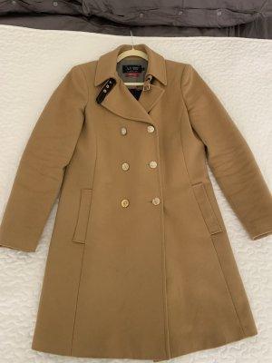 Armani Jeans Wool Coat beige