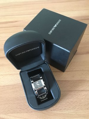 Armani Watch With Metal Strap silver-colored stainless steel