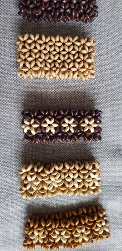 Pulsera marrón claro-marrón