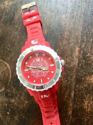 HV Polo Zegarek automatyczny czerwony