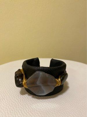 Sztywna bransoletka czarny