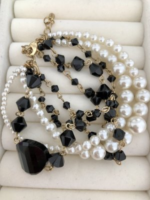 Bracelet noir-blanc