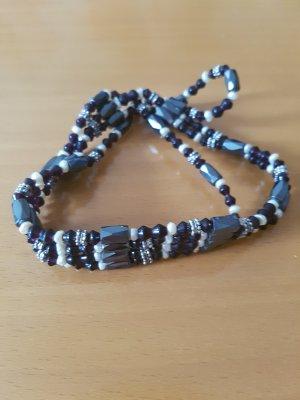 Bransoletki z perłami czarny
