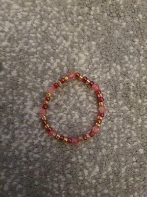 Unbekannter designer Pearl Bracelet gold-colored-pink