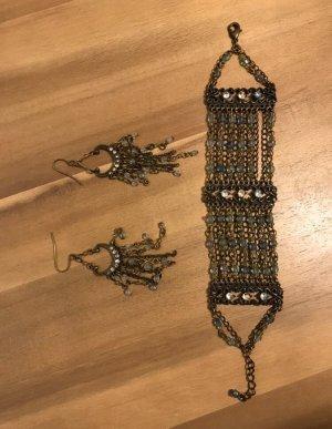 Avon Bracelet en perles multicolore