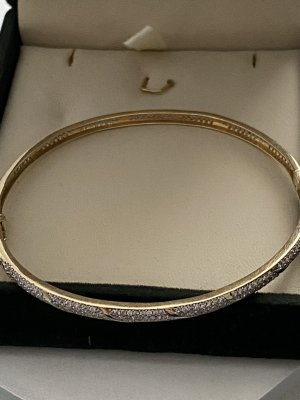 14 Karat Gold Gold Bracelet gold-colored-silver-colored