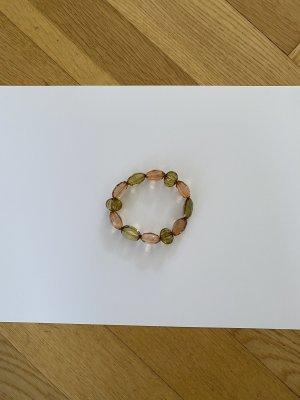 Armband brons-groen-grijs