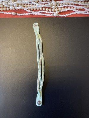 Bransoletka srebrny-turkusowy